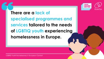 LGBTIQ Youth Homelessness in Europe
